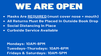 WE ARE OPEN WITH LIMITED SERVICES